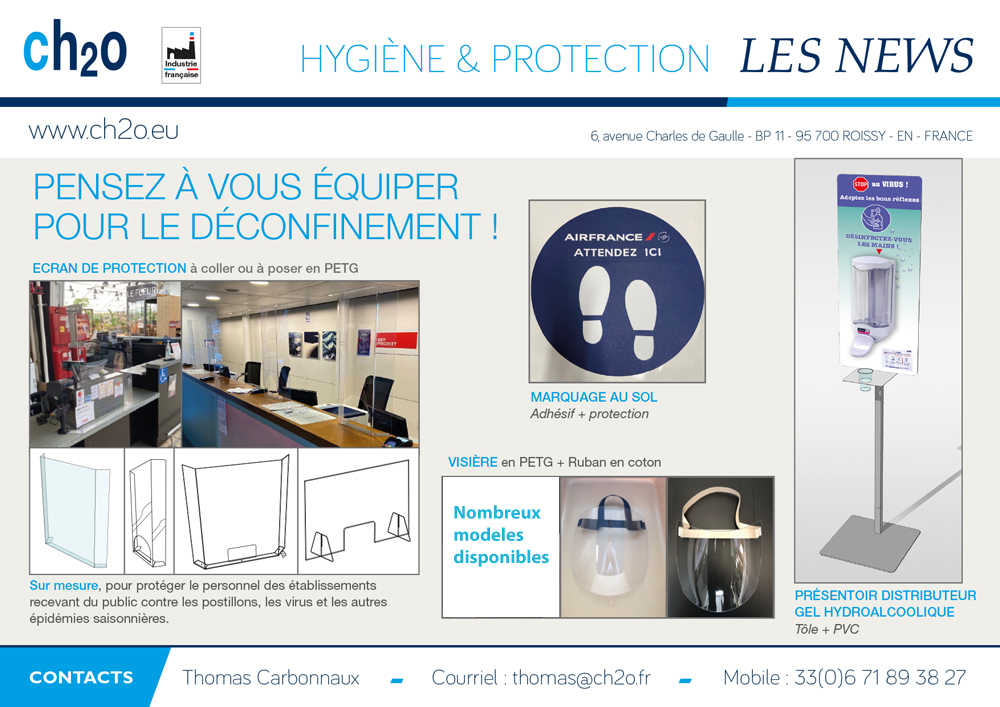 Equipement d protection COVID 19